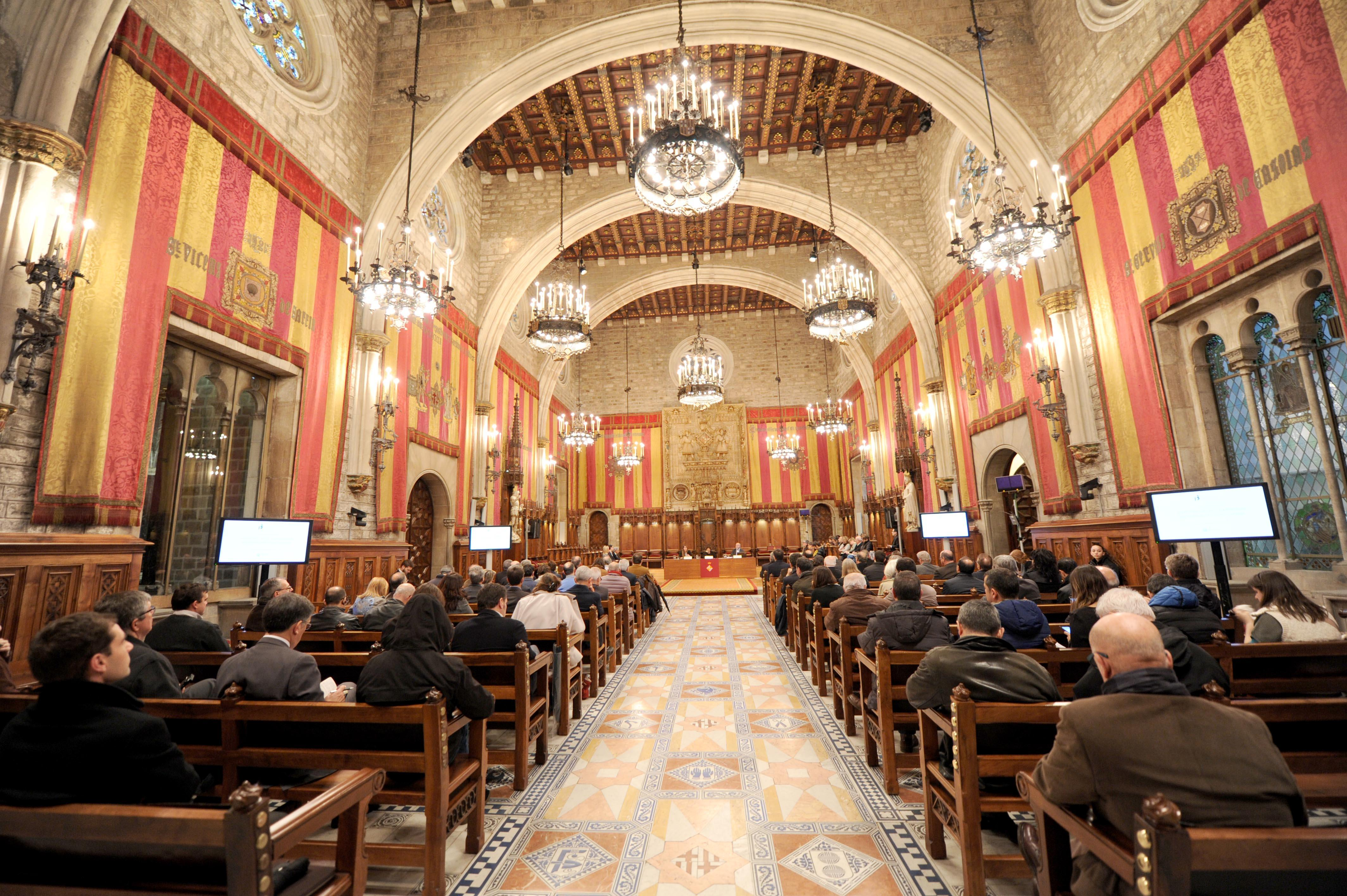 Saló de Cent, Ajuntament de Barcelona