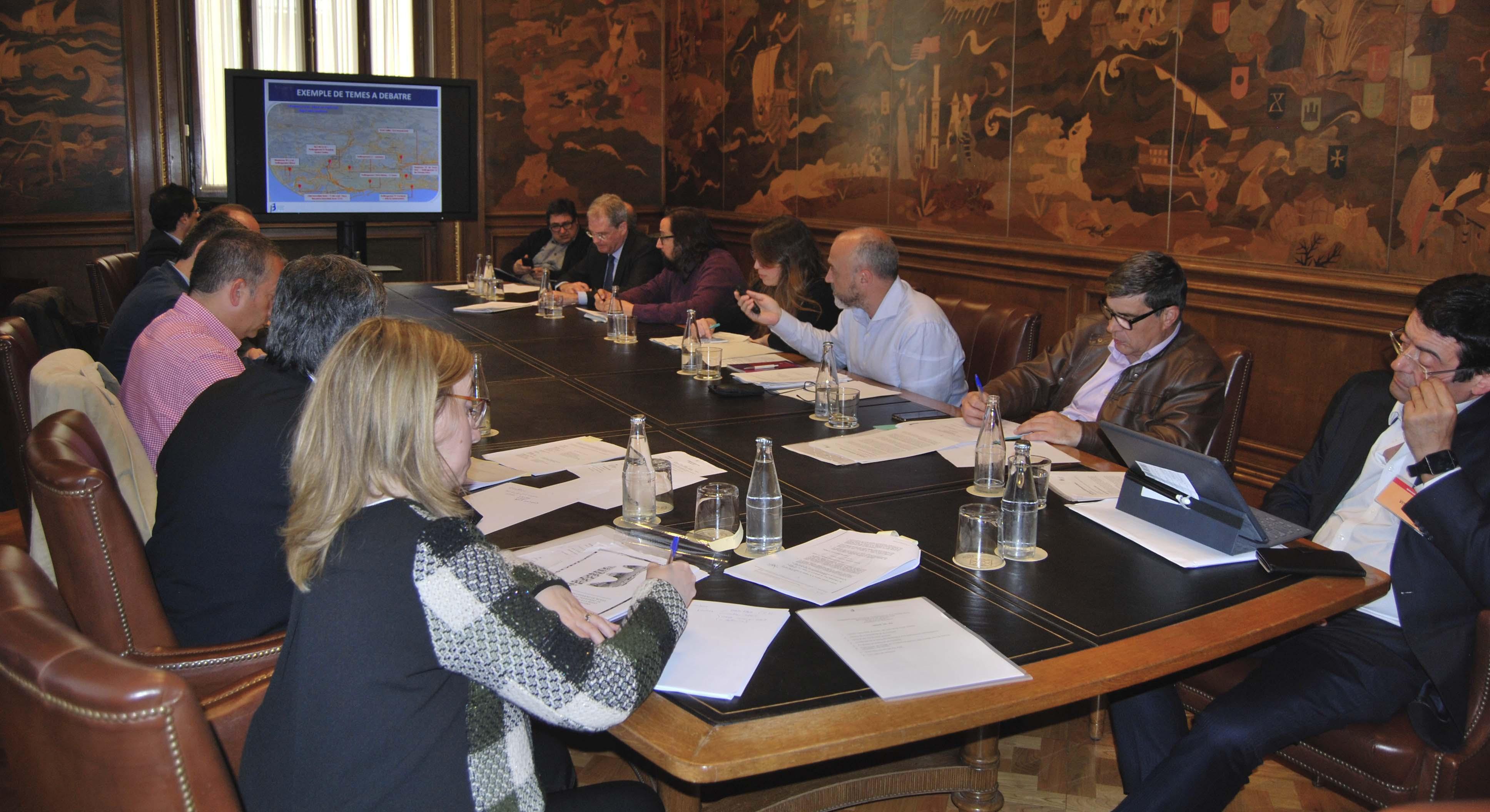 Imatge de la reunió de la Comissió Executiva