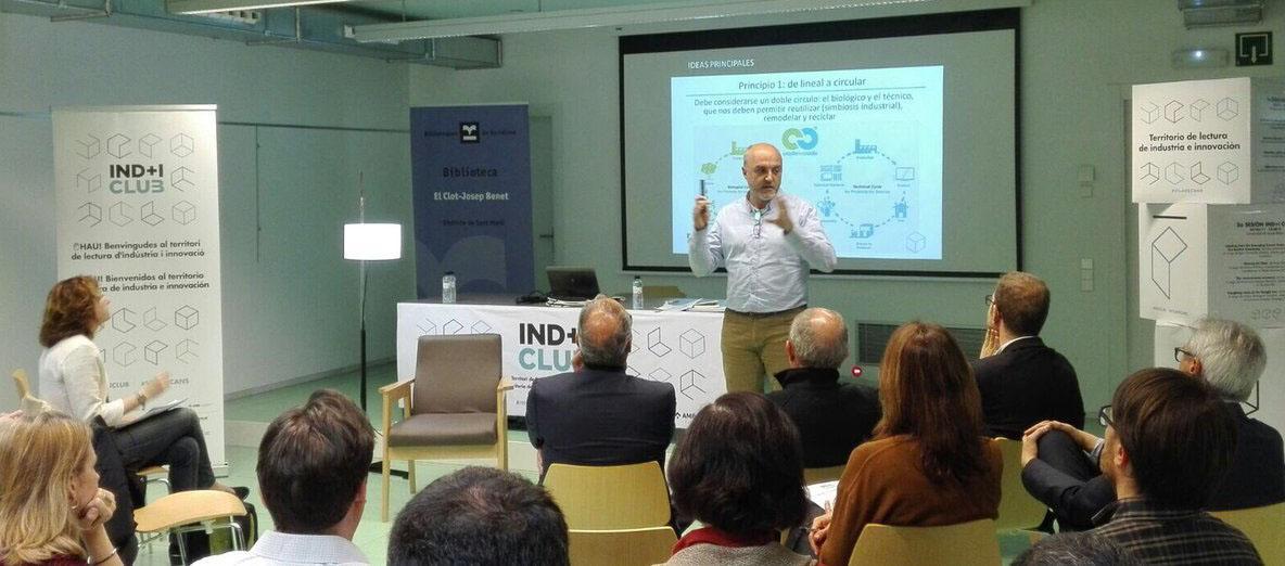 Presentació del coordinador general del PEMB, Oriol Estela