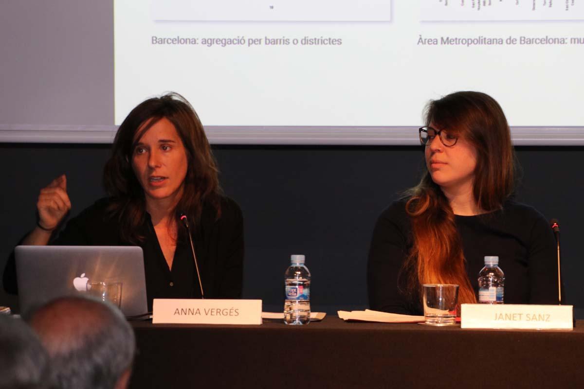 Anna Vergés y Janet Sanz