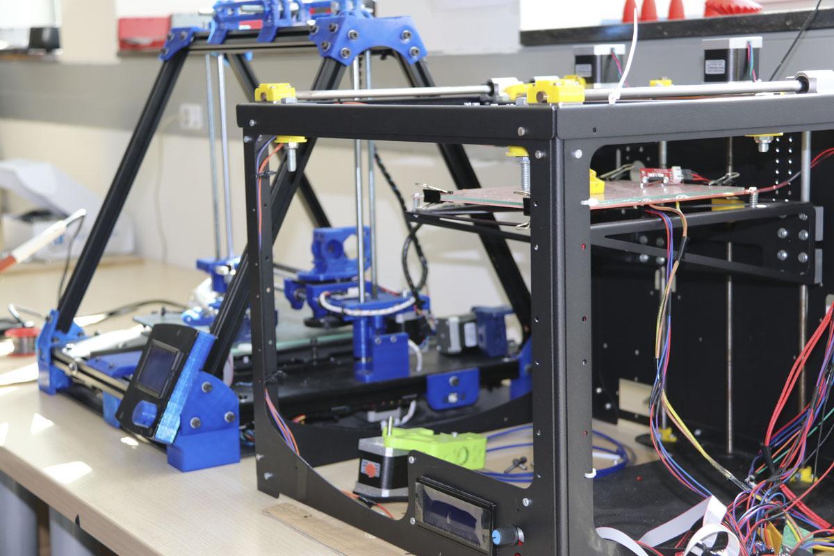 Impressores 3D al Campus Diagonal-Besòs