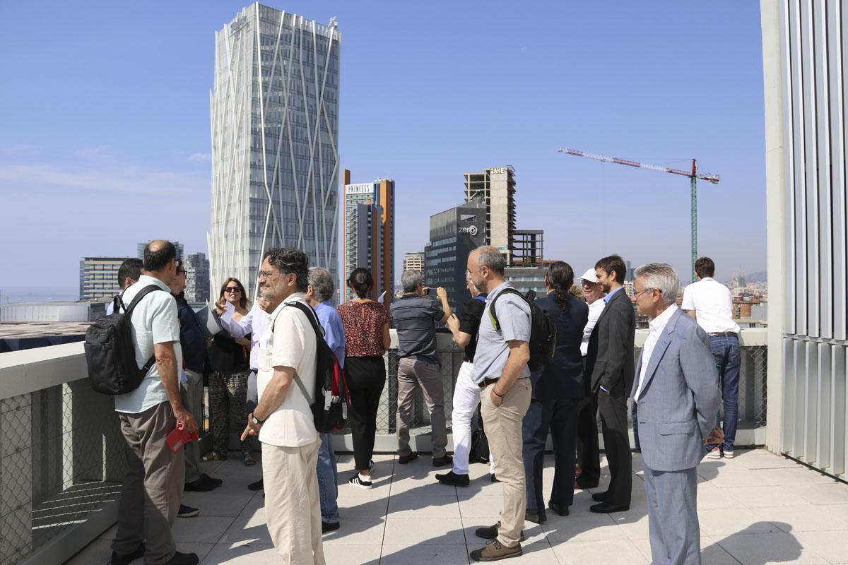 Associats del PEMB visiten el Campus Diagonal-Besòs