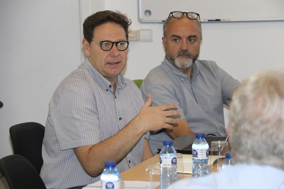 Col·loqui sobre planificació estratègica amb Rafael Merinero