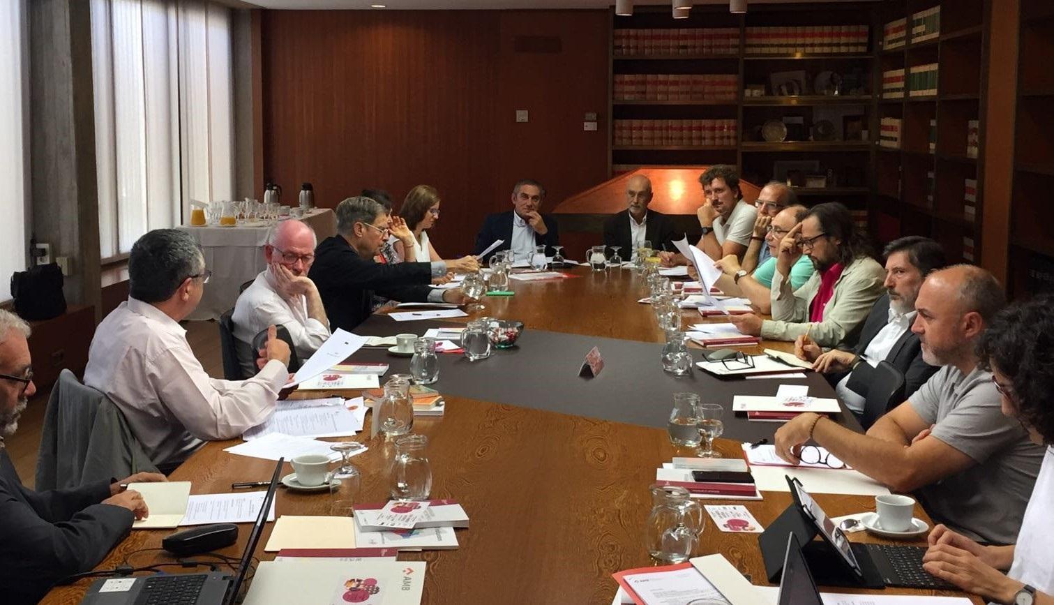 Sessió de treball convocada pel PEMB i l'AMB per a la millora de la governança metropolitana