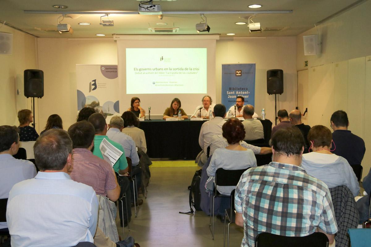 El racó de #repensar, presentació 'La España de las ciudades'