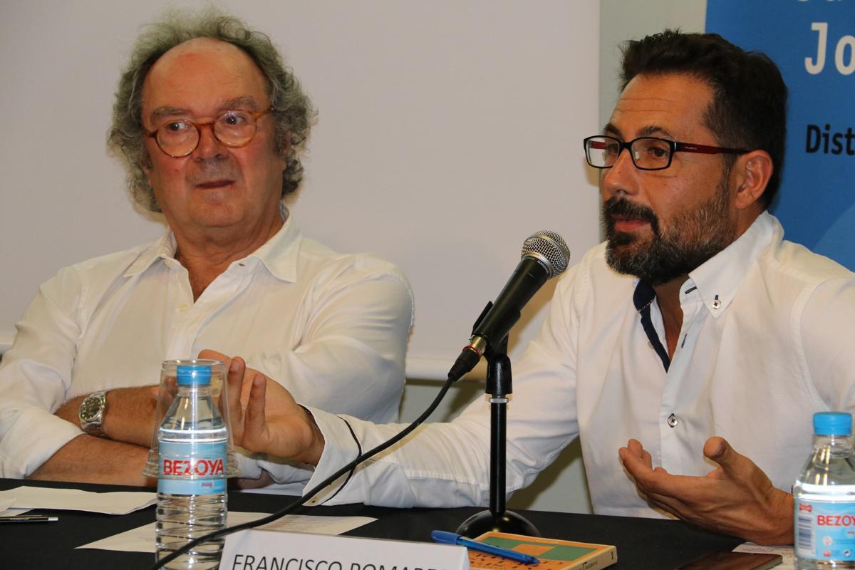 Francisco Pomares durante su intervención