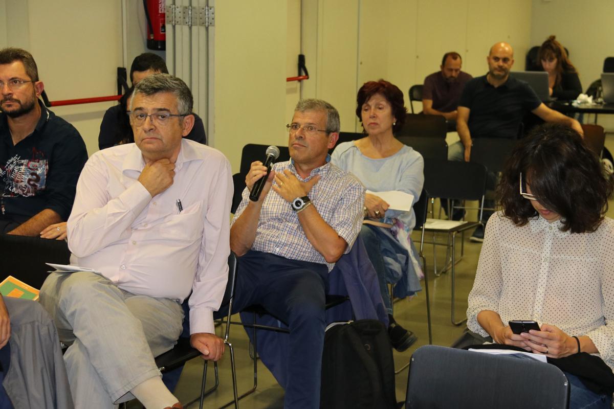 Debat durant la presentació de 'La España de las ciudades'