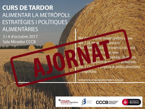 Imagen del curso sobre políticas alimentarias