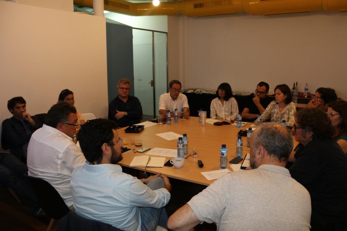 Imatge dels participants al col·loqui
