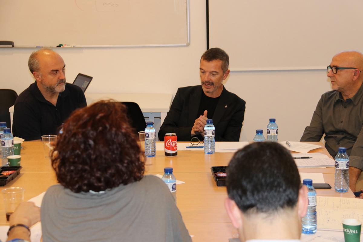 Damien Silès durant la seva intervenció