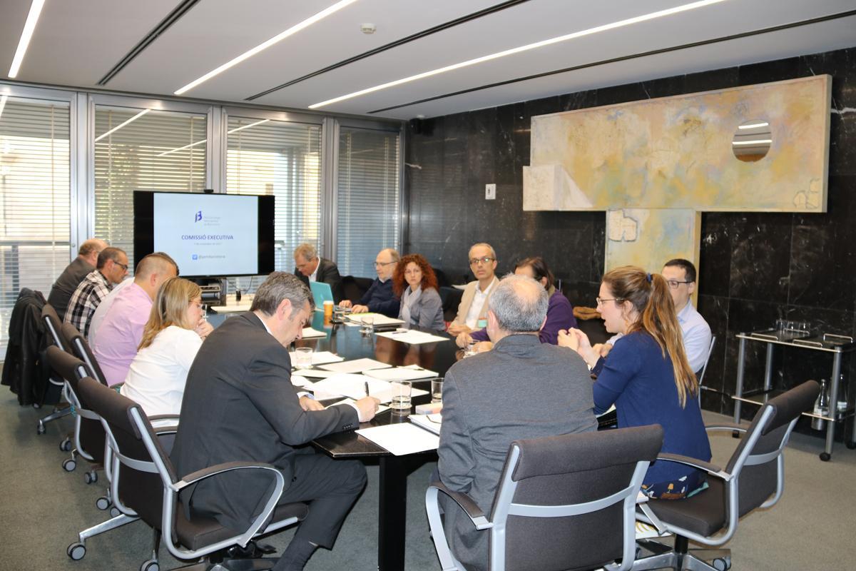 Reunió de la Comissió Executiva PEMB