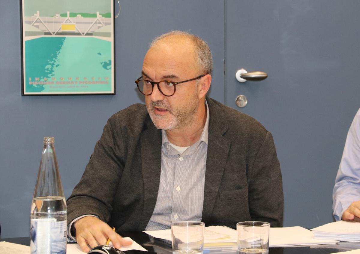 Intervención del coordinador general del PEMB, Oriol Estela