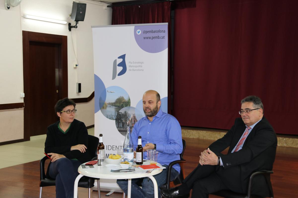 María Buhigas, Marc Navarro y Baltasar Pozuelo