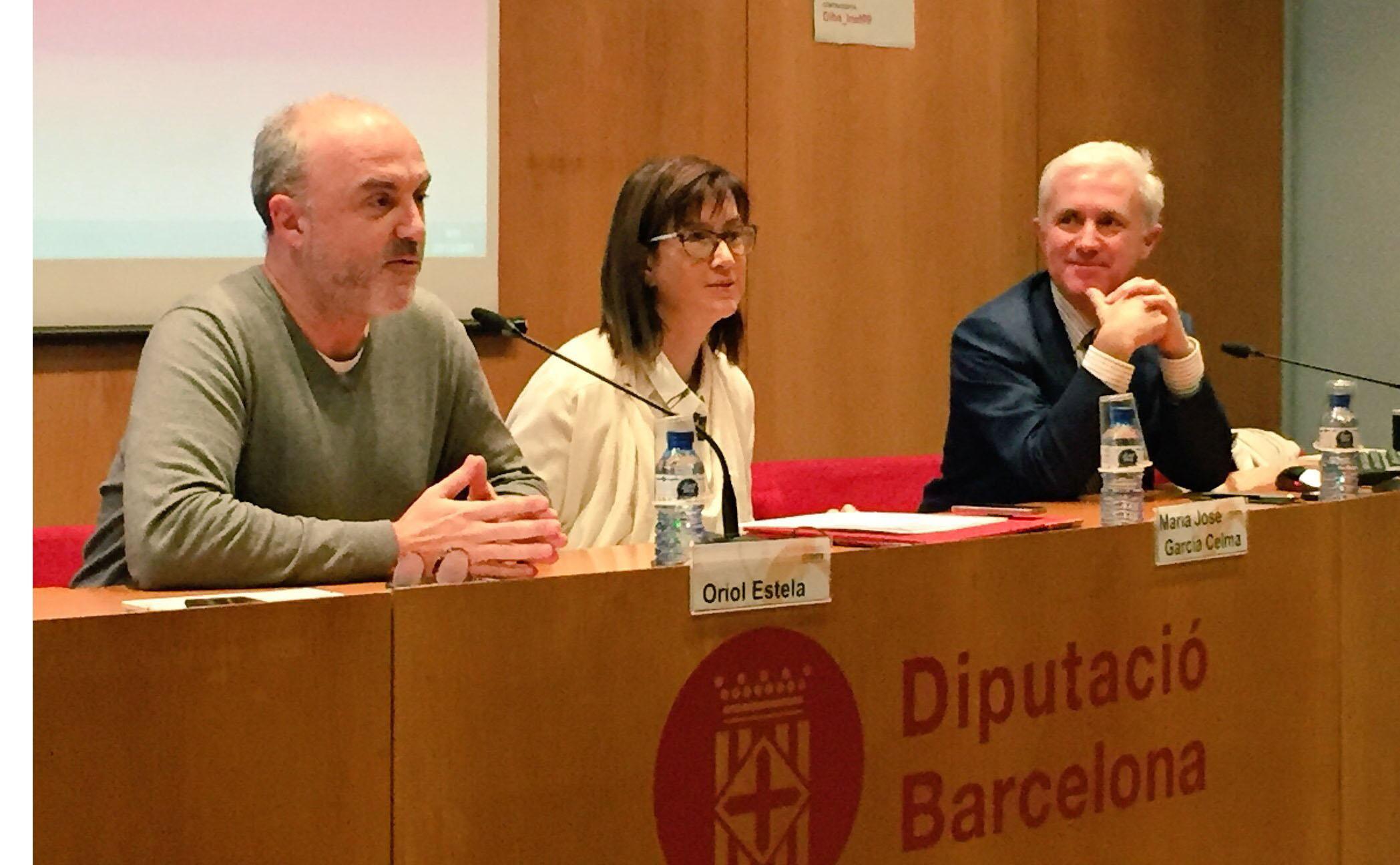 Oriol Estela, María José Celma i Andrea Calori
