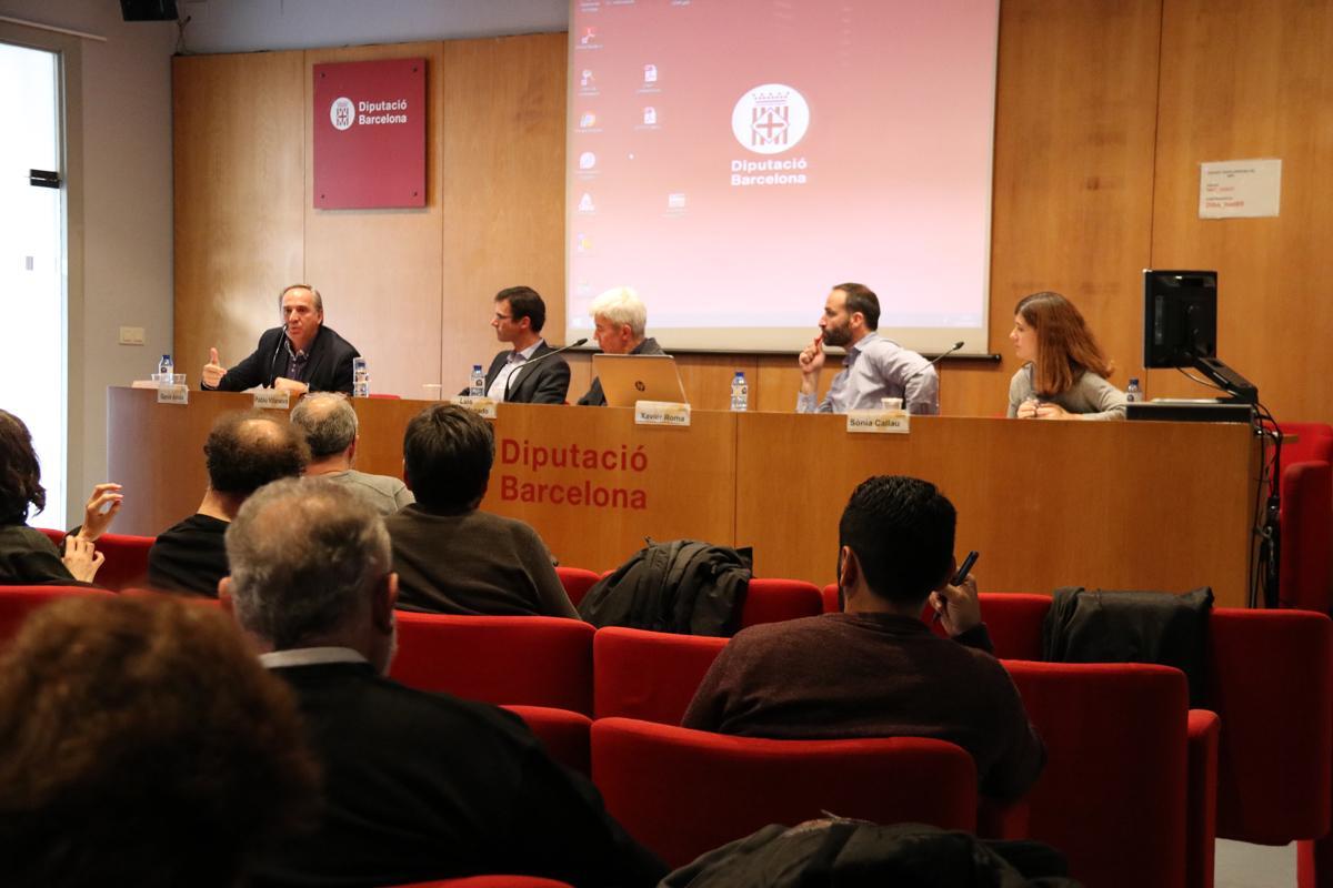Gernís Arnàs, Pablo Vilanueva, Luis Maldonado, Xavier Roma, Sonia Callau