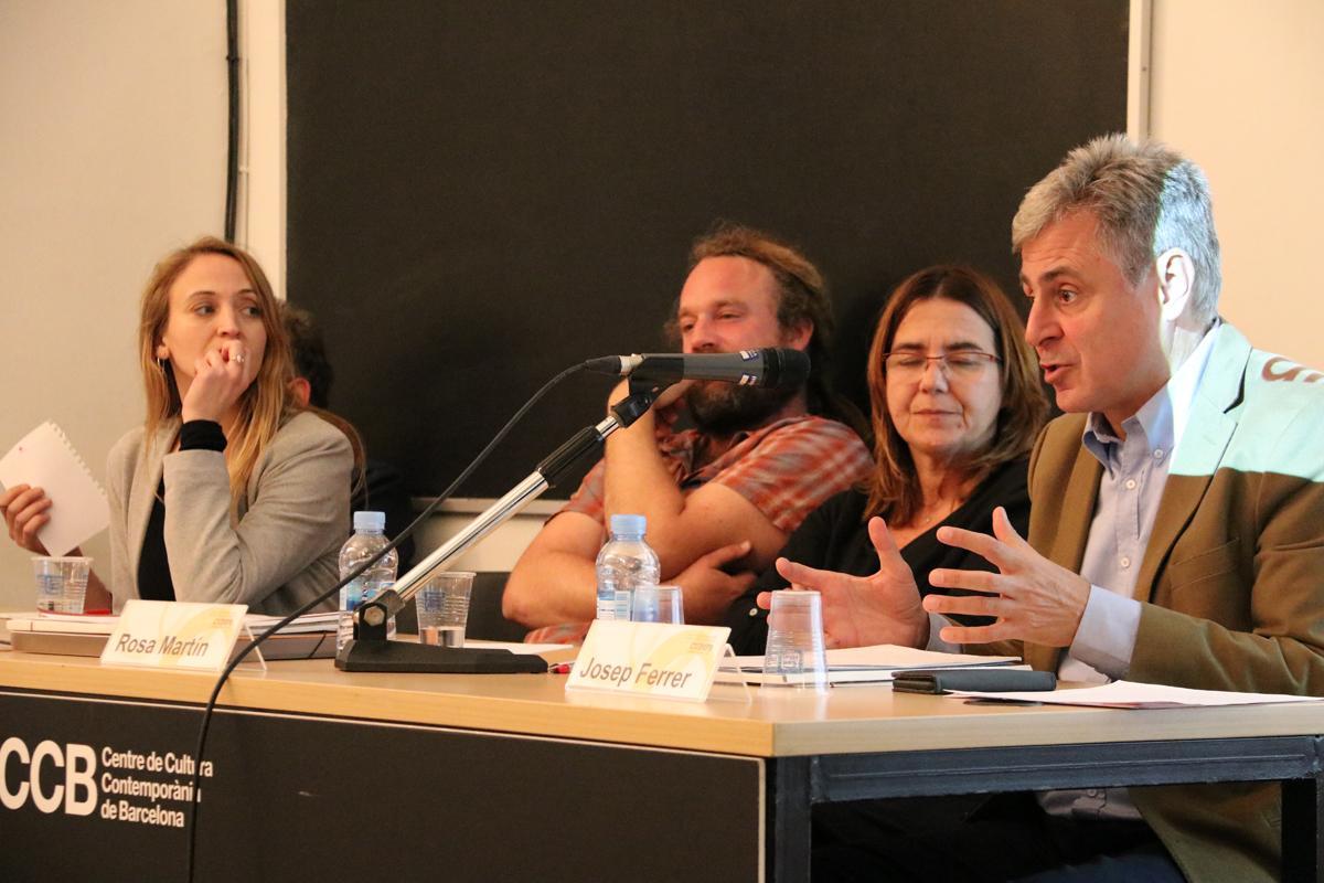 Isabel Coderch, Olivier Chantry, Rosa Martín, Josep Ferrer