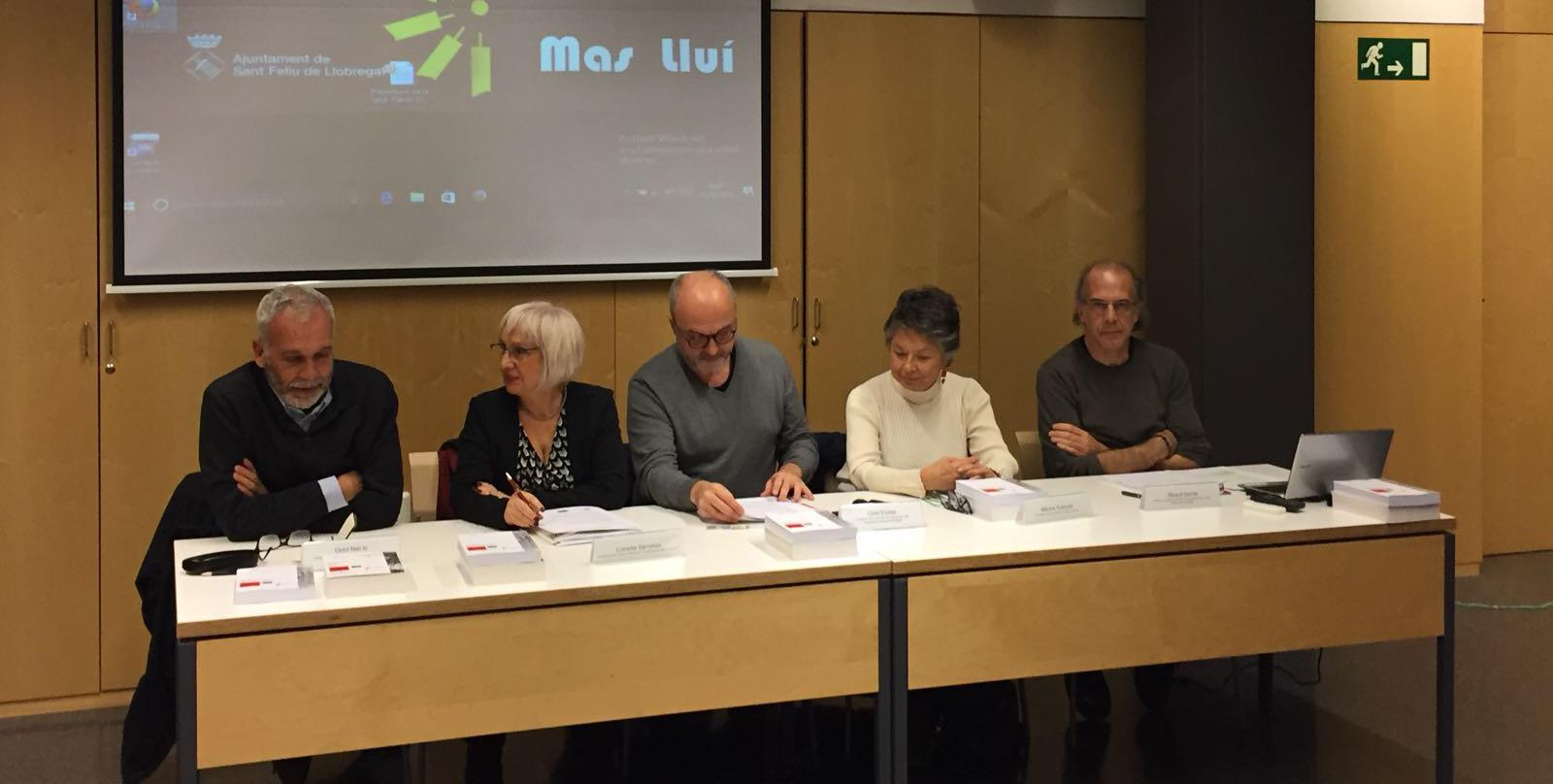 Oriol Nel·lo, Conxita Sánchez, Oriol Estela, Marina Subirats, Ricard Gomà