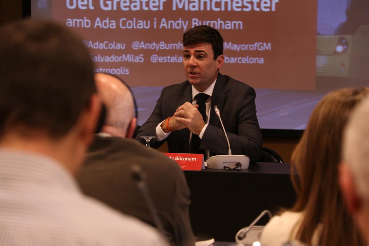 Espai de coneixement i debat sobre temes metropolitans: el cas del Greater Manchester amb Andy Burnham