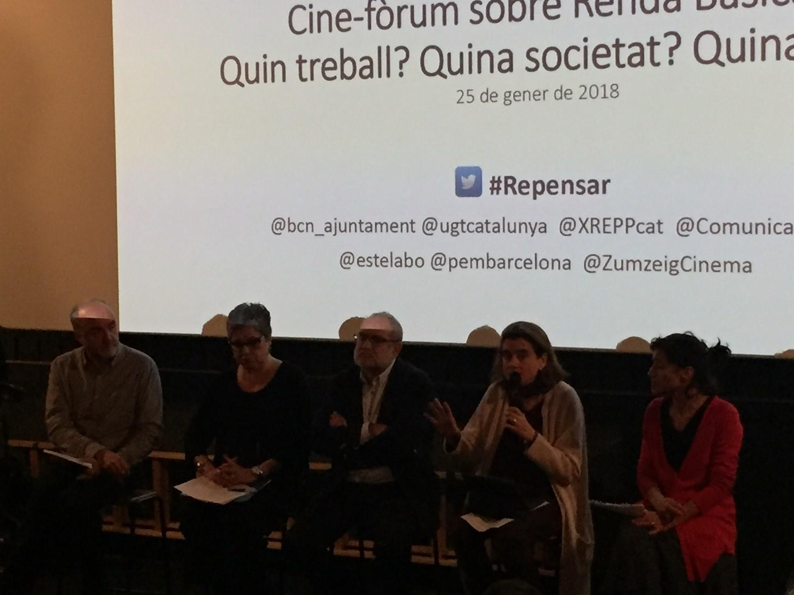 Cine forum: 'Free Lunch Society'