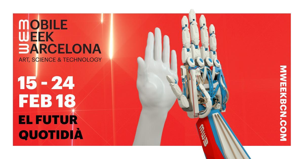 La Mobile Week Barcelona tendrá lugar entre los días 15 y 24 de febrero