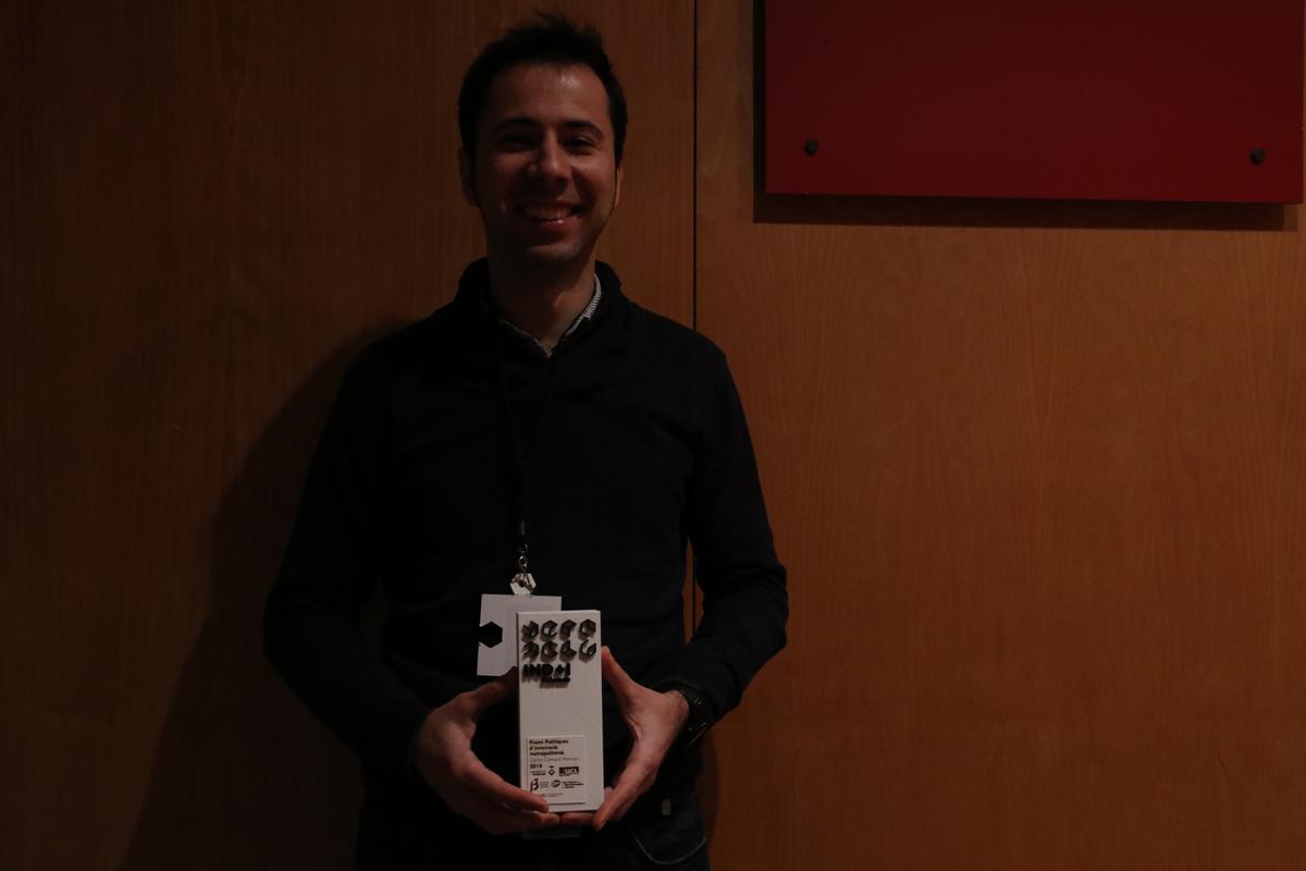 Carlos Cámara guardonat amb el premi INDI Science