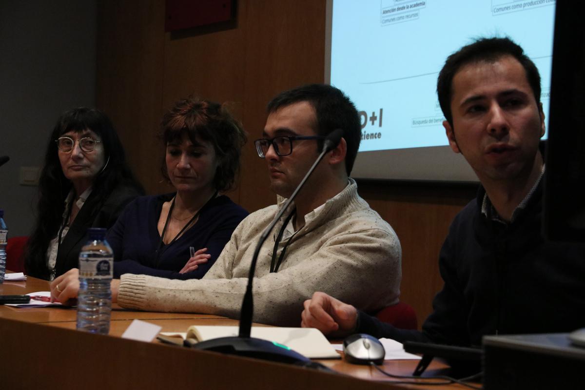 Carlos Cámara, Jordi Rosell, Núria Vallès y Montserrat Pallarès-Barberà