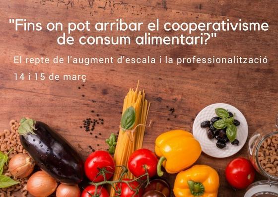 Imatge de les jornades sobre cooperativisme alimentari