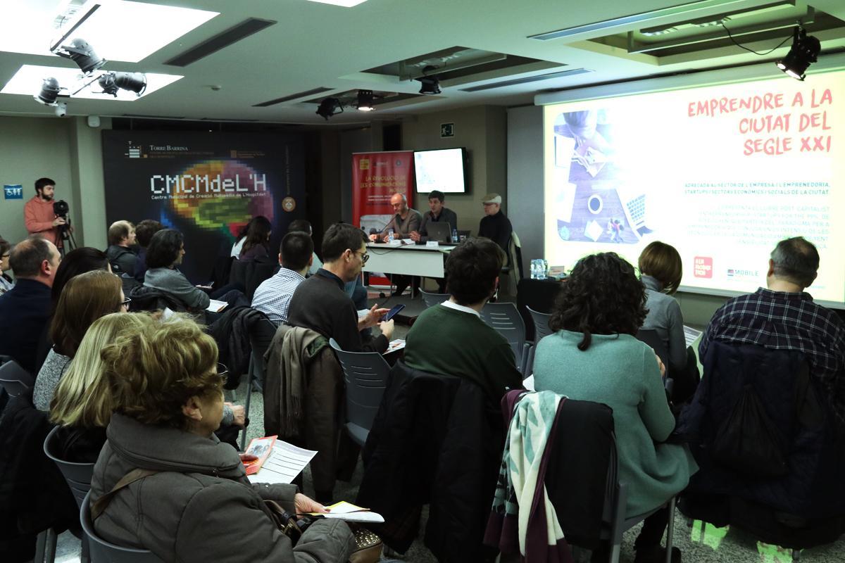 David Quirós dóna la benvinguda als assistents