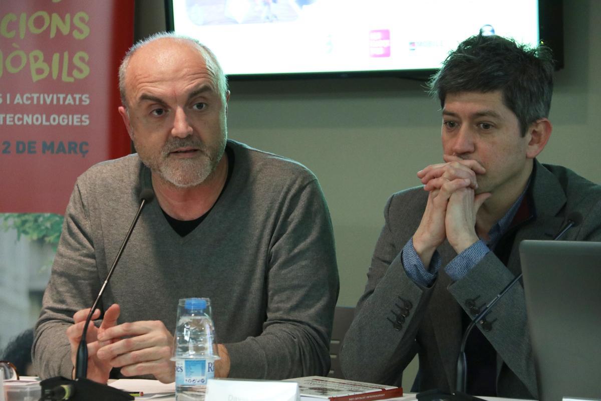 Oriol Estela Barnet presenta el Racó de #Repensar