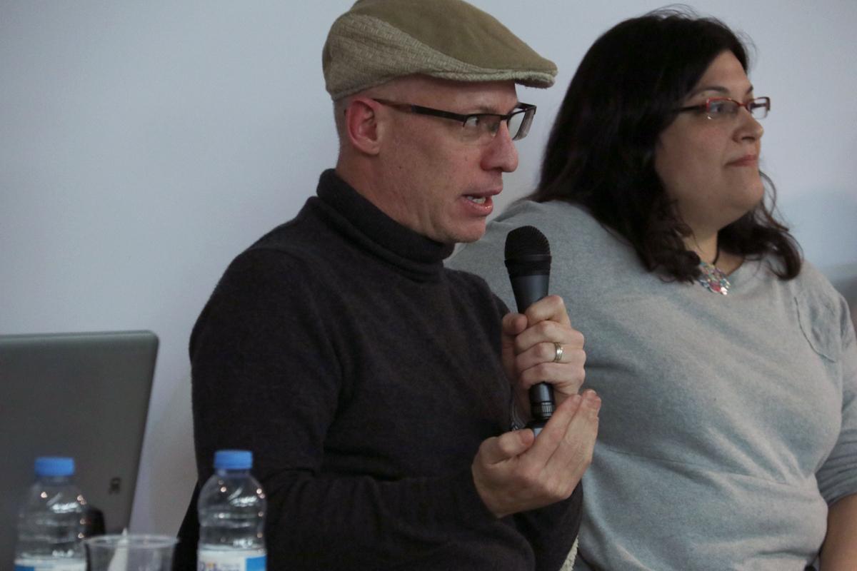 Boyd Cohen durant el debat