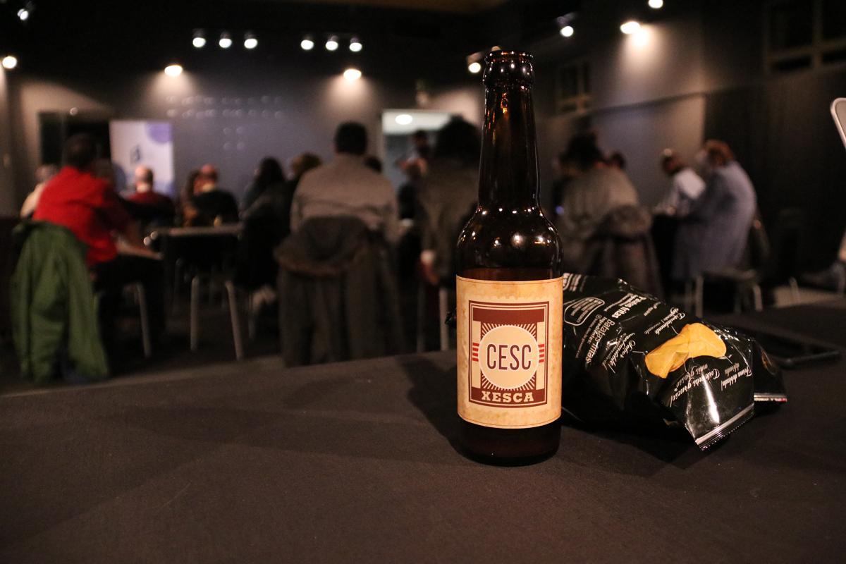 Cerveza Cesc de la Cervecera del Poblenou