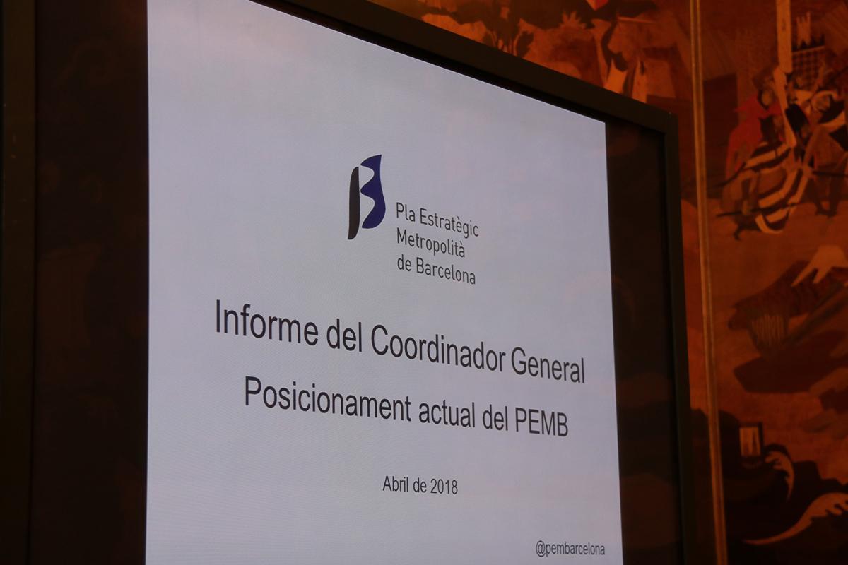 Consell Rector del Pla Estratègic Metropolità de Barcelona 2018