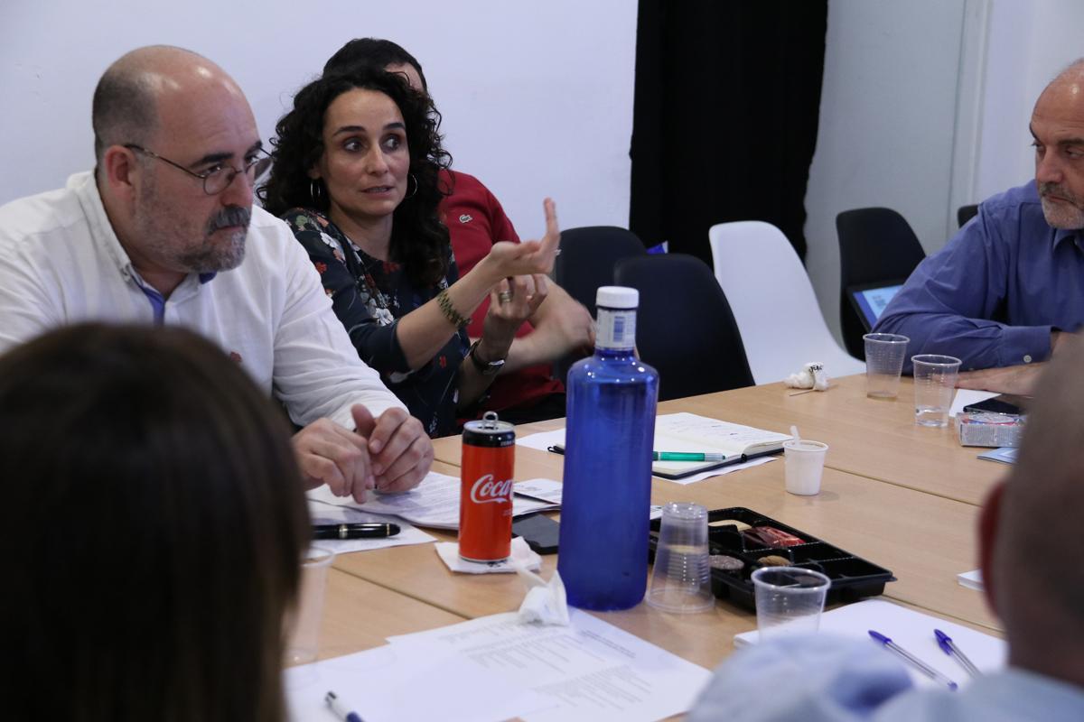 Debate durante el almuerzo temático sobre Objetivos de Desarrollo Sostenible