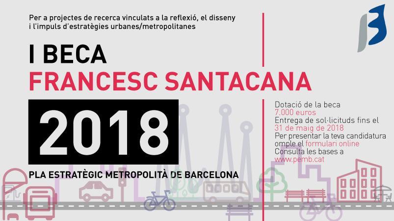 Imatge del concurs de la I Beca Francesc Santacana