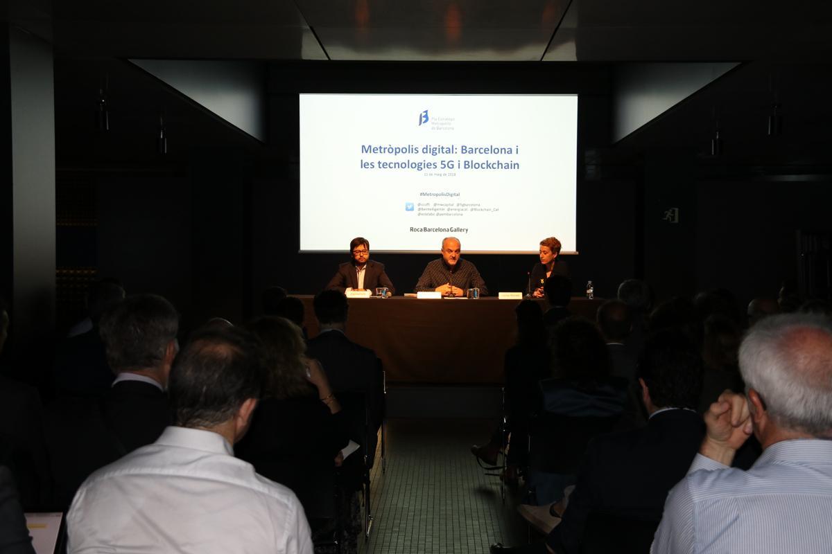 Metrópolis Digital: Barcelona y las tecnologias 5G y Blockchain