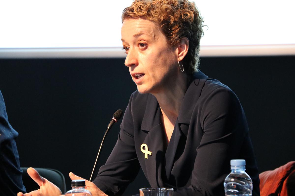 Lluïsa Marsal durante su intervención