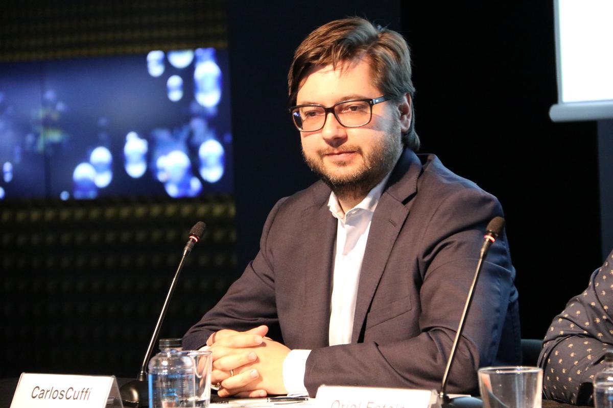 Carlos Cuffí en el Desayuno estratégico sobre Metrópolis Digital