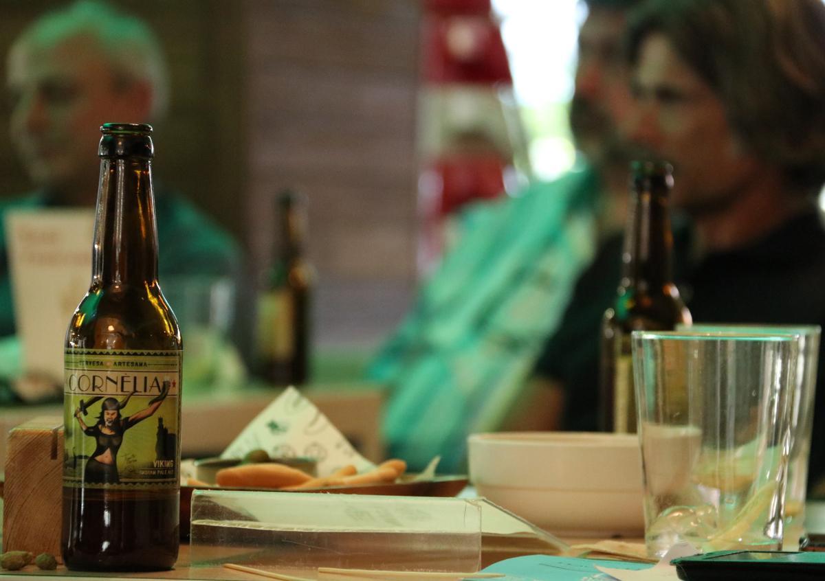 Cervesa Cornèlia, la cervesa invitada a La Metro