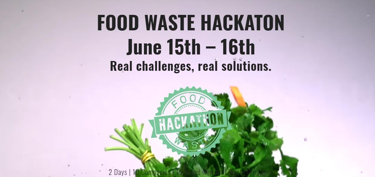 Imatge del Food Waste Hackathon
