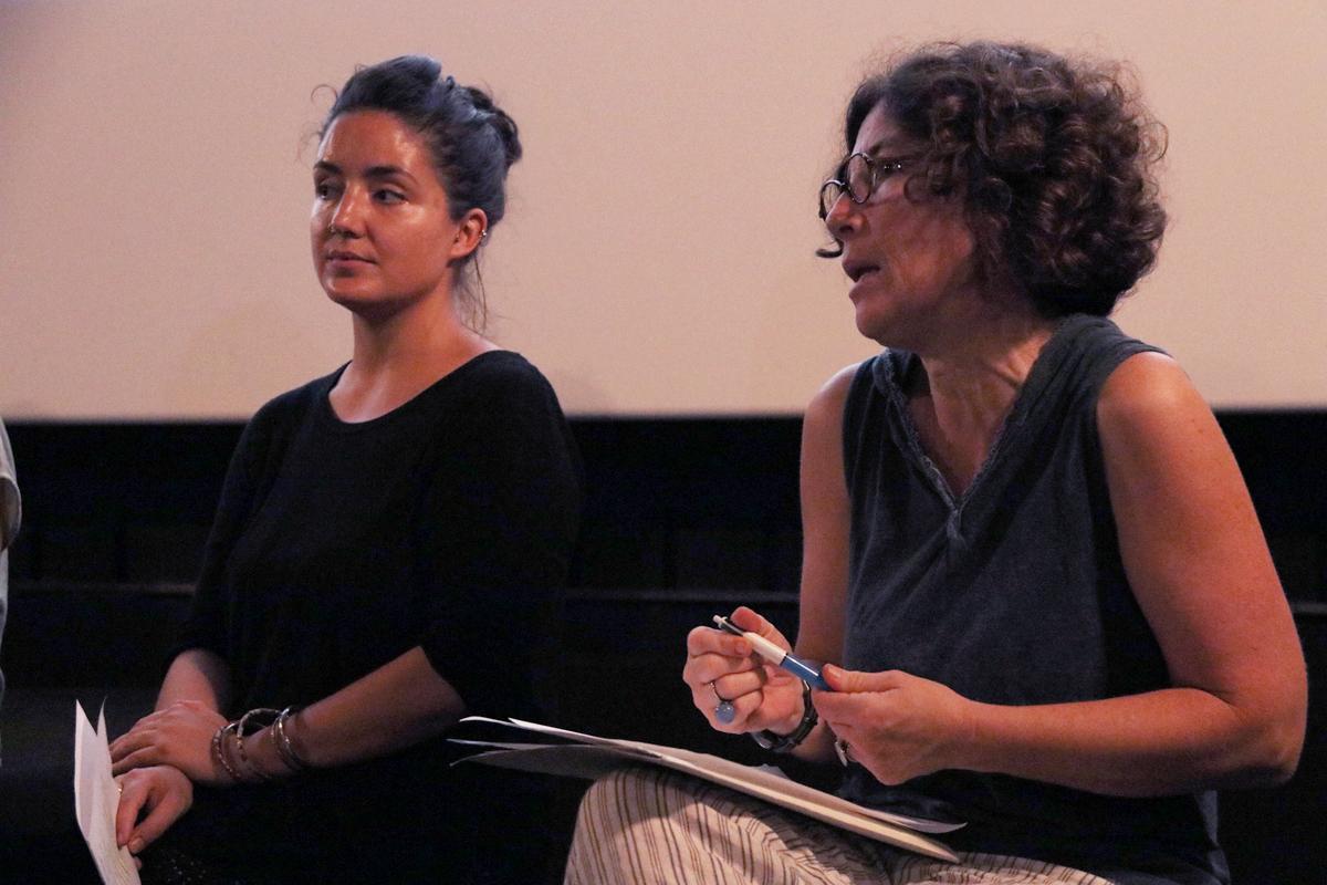 Xènia Elias i Gaby Susanna participen al debat del Racó de Repensar