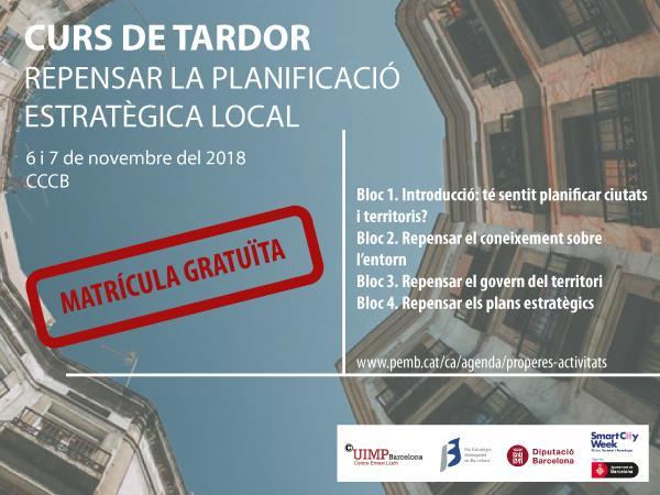 Repensar la Planificació Estratègica Local