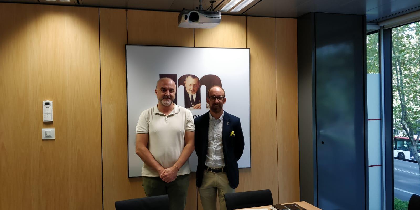 Reunió amb Miquel Forns