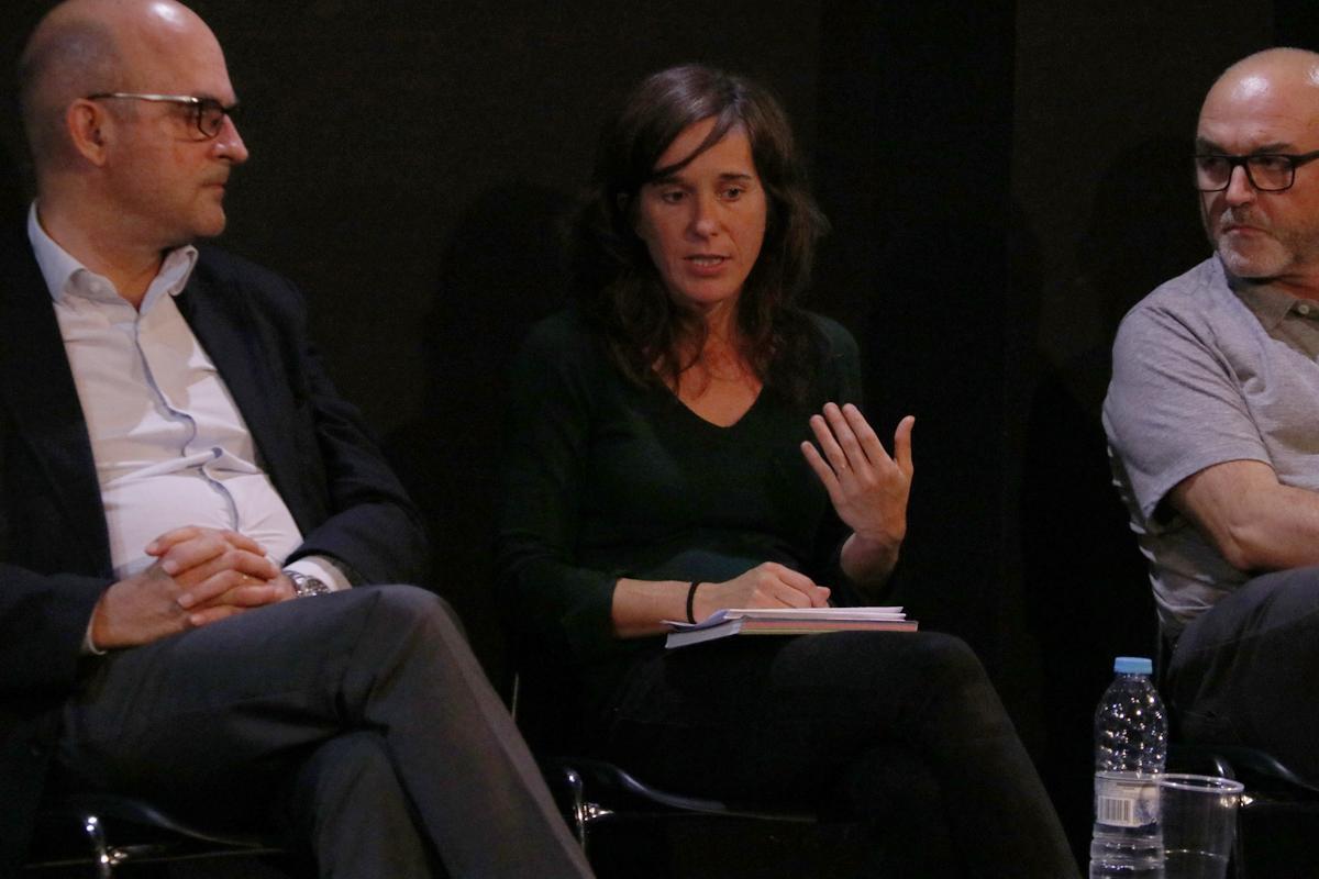 Anna Vergès, Observatori Metropolità de l'Habitatge, durante el Rincón de #Repensar