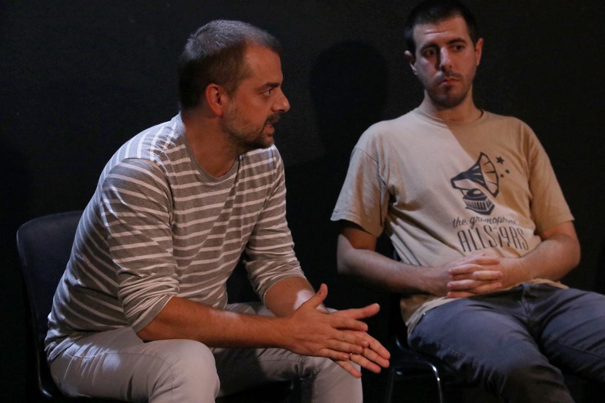 Intervención de Xavier Anzano, de Prat Espais, durante el Rincón de Repensar