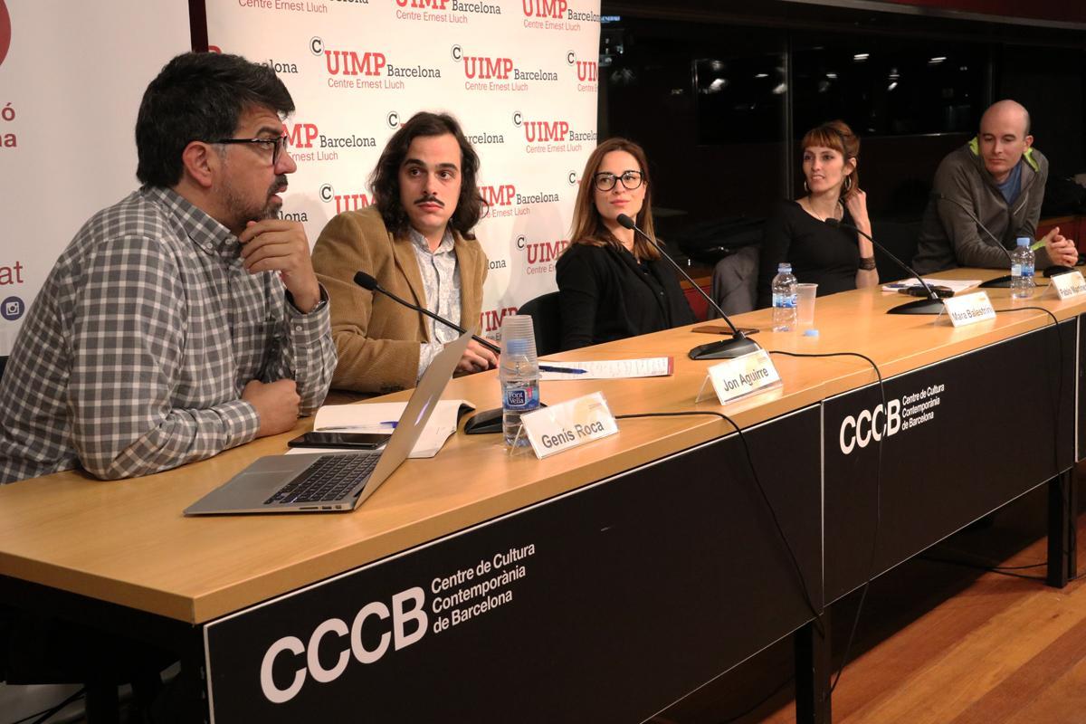 Genís Roca, Jon Aguirre, Mara Balestrini, Blanca Bladivia y Pablo Martínez