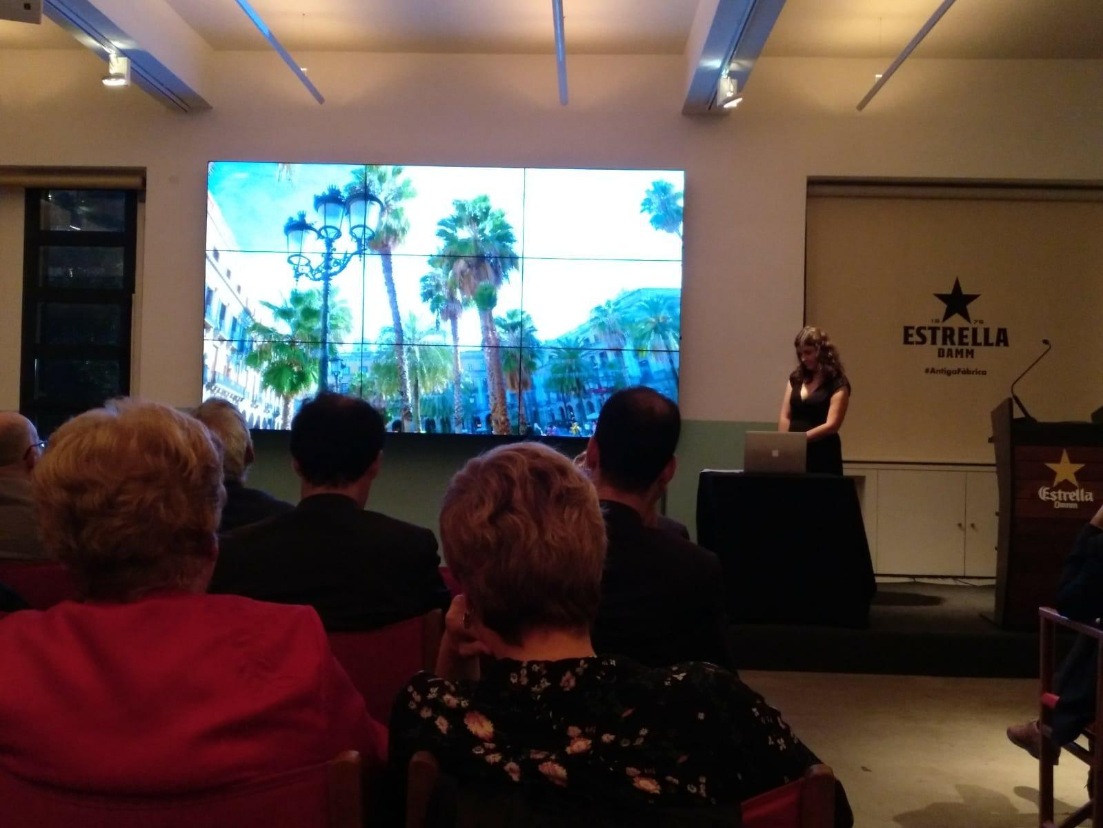 La sotsdirectora Meritxell M. Pauné durant la presentació del 'TOT Barcelona'