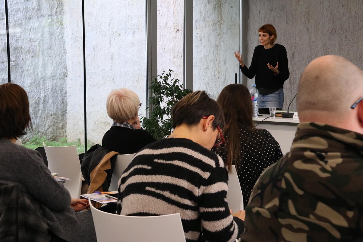 Taller de urbanismo con perspectiva de género con Blanca Valdívia de Col·lectiu Punt 6