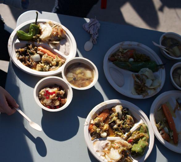 Se han preparado nueve platos diferentes con fruta y verdura