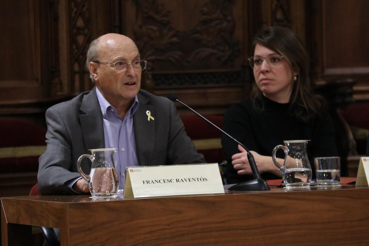 Francesc Raventós, primer president de la Comissió Executiva del Pla Estratègic Econòmic i Social Barcelona 2000,