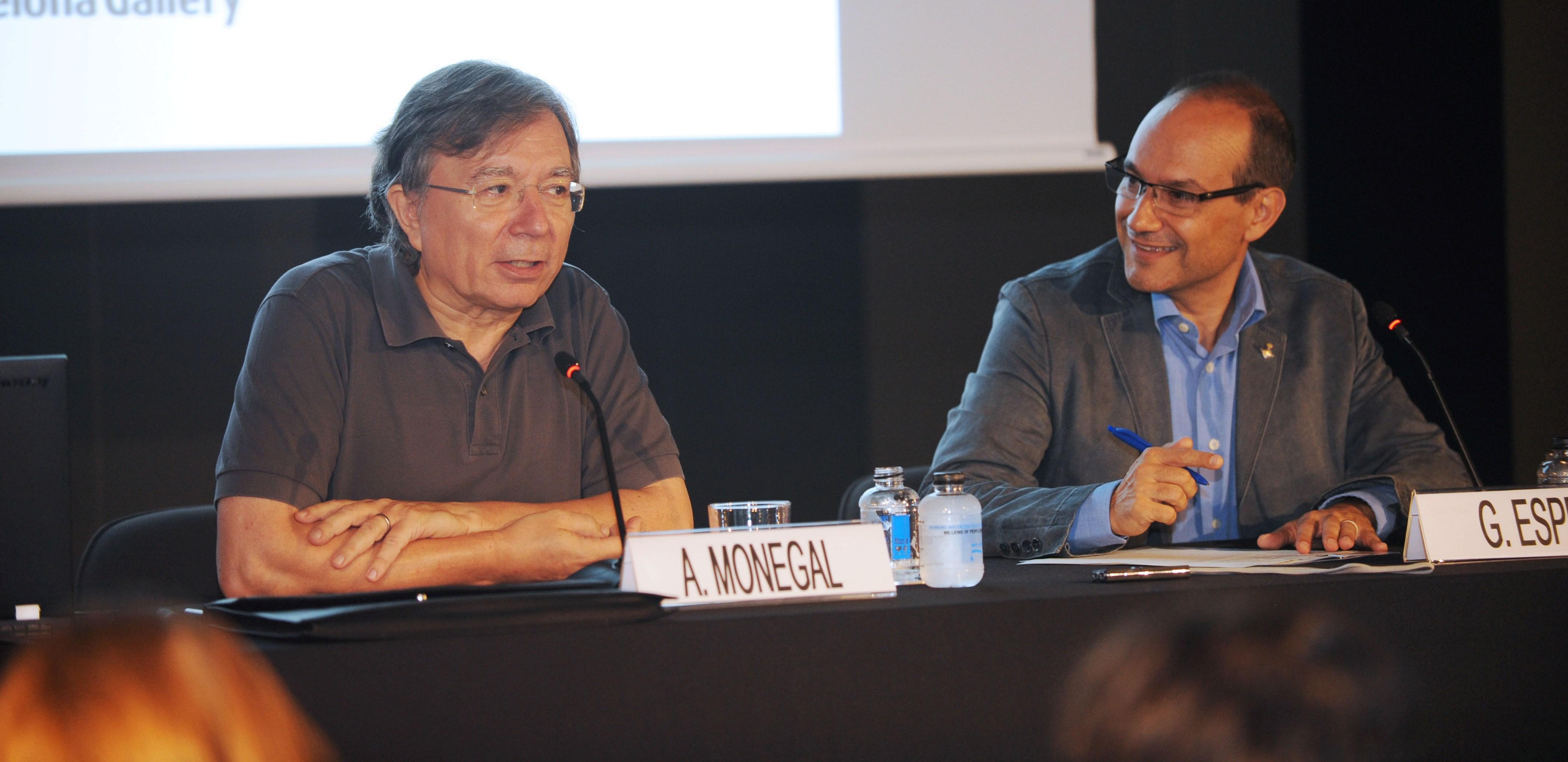 Guillem Espriu i Antonio Monegal